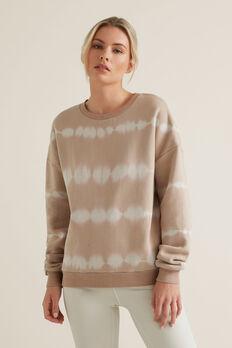 Tie Dye Sweater  NEUTRAL BEIGE  hi-res