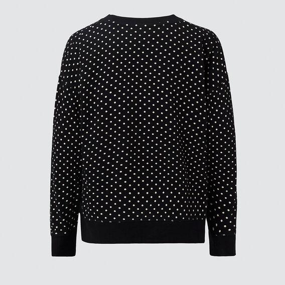 Spot Top  BLACK/WHITE  hi-res