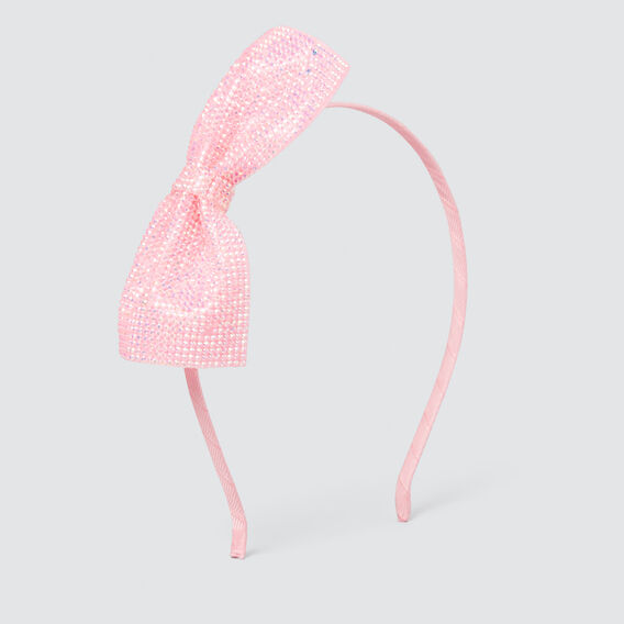 Gem Bow Headband  ICE PINK  hi-res