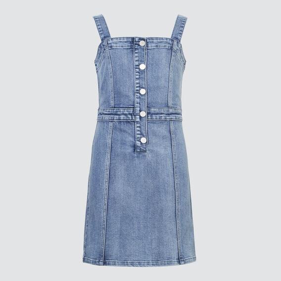 Denim Dress  PALE BLUE WASH  hi-res