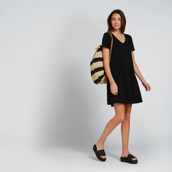 Casual Swing Dress  BLACK  hi-res