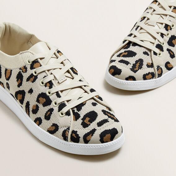 Sarah Knit Sneaker  OCELOT  hi-res
