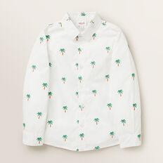 Palm Yardage Shirt  VINTAGE WHITE  hi-res