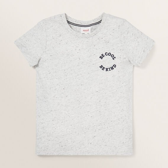Basic Tee  CLOUDY MARLE  hi-res