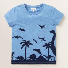Dino Scene Tee  CORNFLOWER BLUE  hi-res