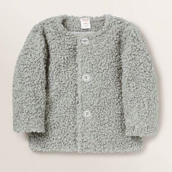 Boucle Jacket  MID GREY  hi-res