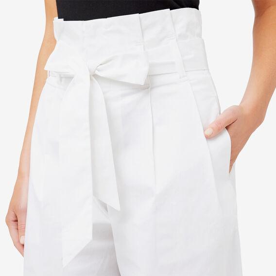 Paperbag Pant  BRIGHT WHITE  hi-res