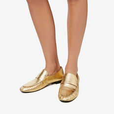 Chiara Metallic Loafer  GOLD  hi-res