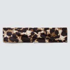 Ocelot Knit Elastic Headband  OCELOT  hi-res