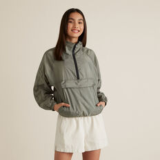 Packable Spray Jacket  SAGE  hi-res