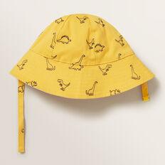Dino Sun Hat  MUSTARD  hi-res