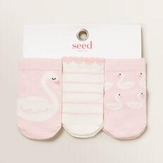 Swan Socks  MARSHMALLOW  hi-res