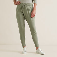 Harem Trackpants  WASHED OLIVE  hi-res