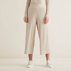 Textured Lounge Pants  DESERT MARLE  hi-res