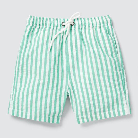 Seersucker Stripe Short  PARROT GREEN  hi-res