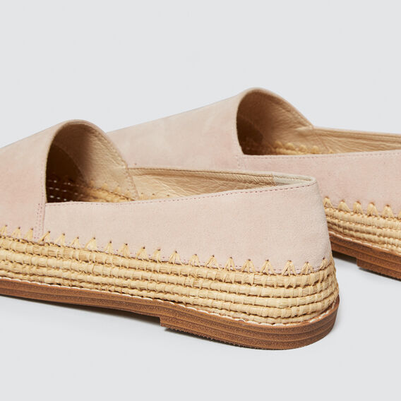 Elle Leather Flat  PEONY PINK  hi-res