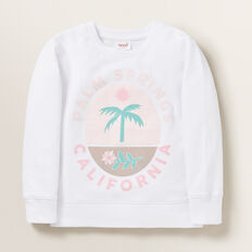 Palm Springs Windcheater  WHITE  hi-res