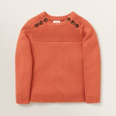 Button Sweater  GINGER SPICE  hi-res