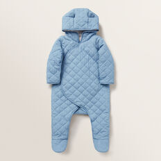 Hooded Chambray Coverall  CHAMBRAY  hi-res