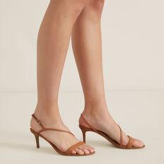 Meghan Heeled Sandal  TAN  hi-res