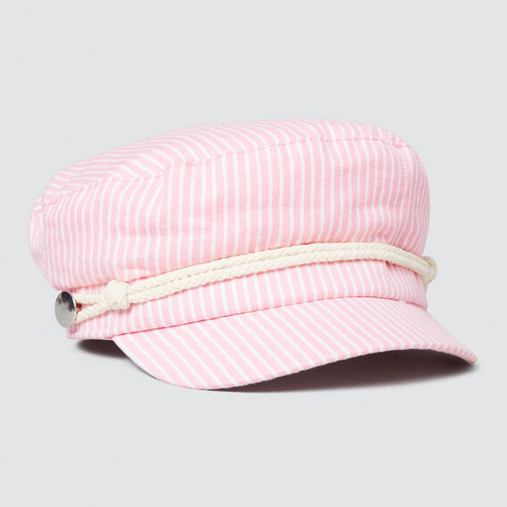 Stripe Fisherman Cap  PINK FIZZ  hi-res