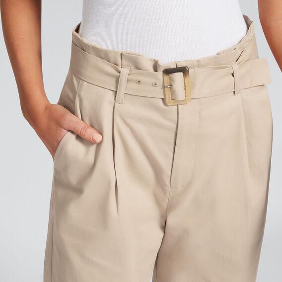 Buckle Detail Pant  TUSCAN BROWN  hi-res