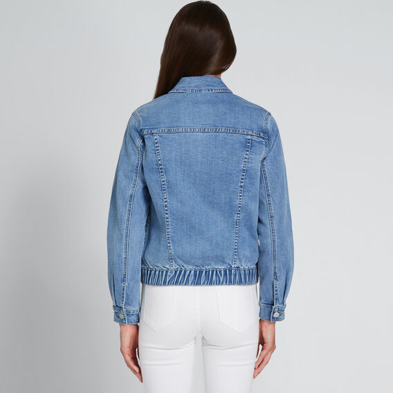 Oversized Denim Jacket  CLASSIC DENIM  hi-res