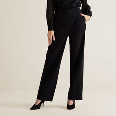 High Waist Pant  BLACK  hi-res