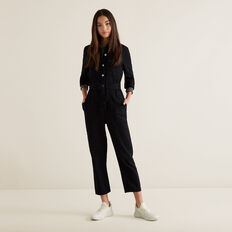 Boiler Suit  BLACK  hi-res