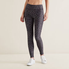 Cheetah Full Legging  CHARCOAL CHEETAH  hi-res