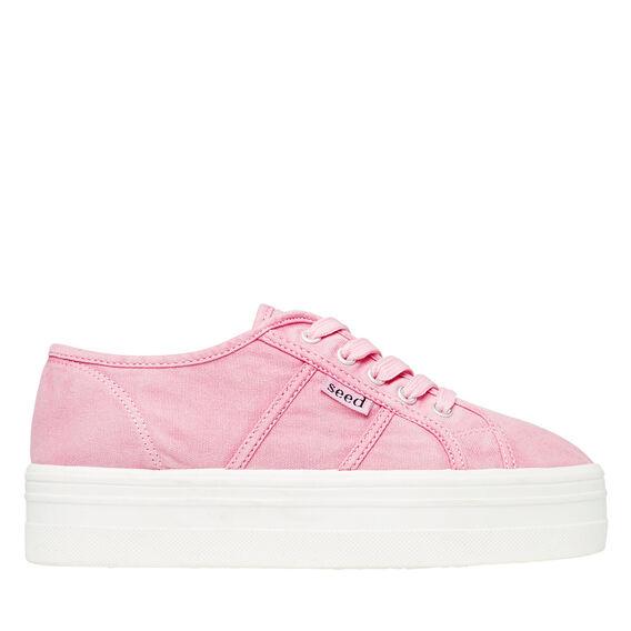 Billie Platform Sneaker  PINK  hi-res