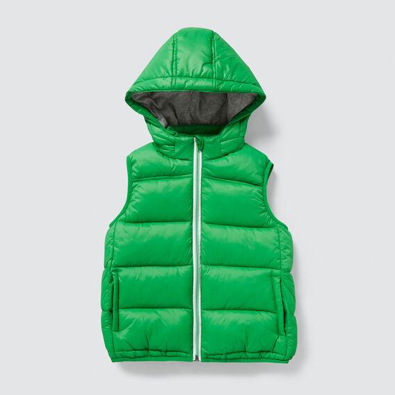 Puffa Vest  RETRO GREEN  hi-res