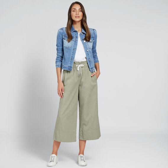 Puff Shoulder Denim Jacket  CLASSIC DENIM  hi-res
