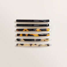Skinny Tort Hair Slides  MULTI  hi-res