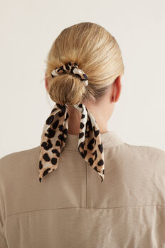 Hair Tie Scarf  ANIMAL  hi-res