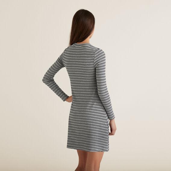 Stripe Dress  GRANITE STRIPE  hi-res