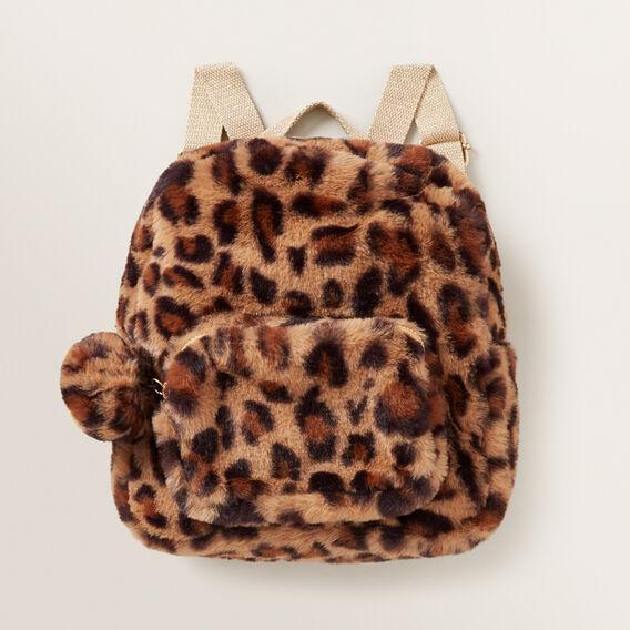 Plush Ocelot Backpack  MULTI  hi-res