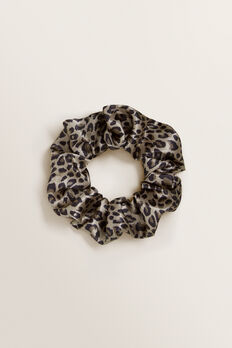 Satin Scrunchie  OCELOT  hi-res