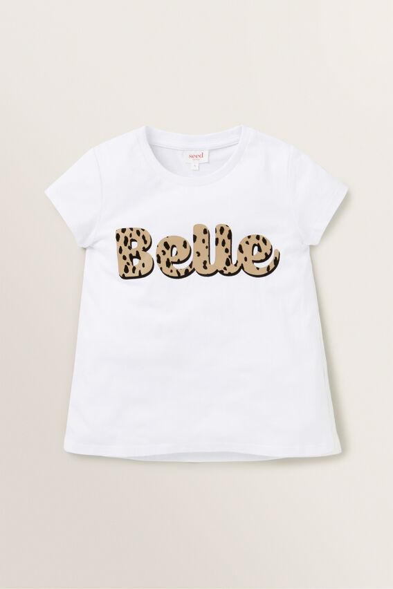 Belle Tee  WHITE  hi-res