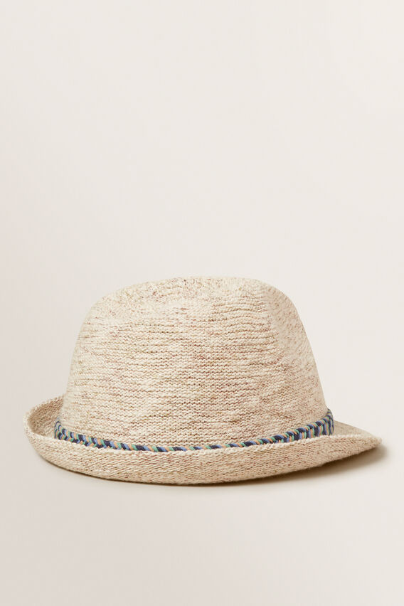 Boucle Fedora  NATURAL  hi-res