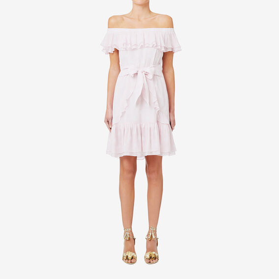 Cold Shoulder Spot Dress  SPOT  hi-res