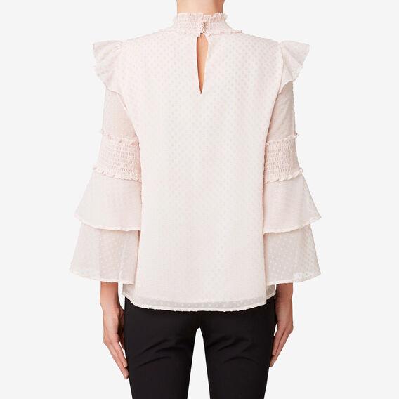 Shirred Detail Blouse  ROSE MIST  hi-res