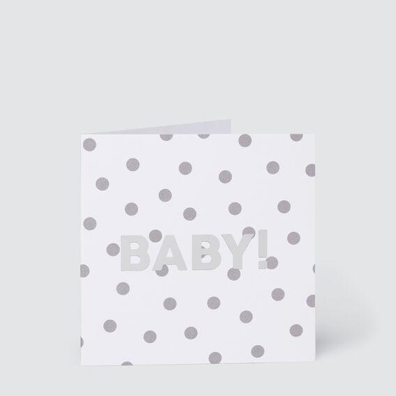 Small Baby Spot Card  MULTI  hi-res