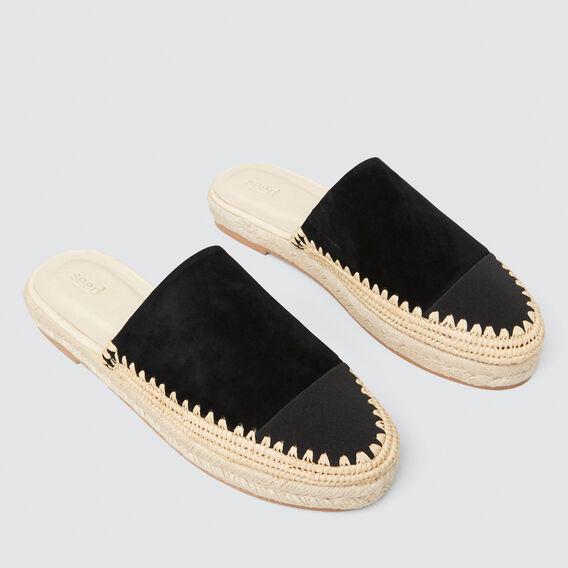Lou Flatform Mule  BLACK  hi-res