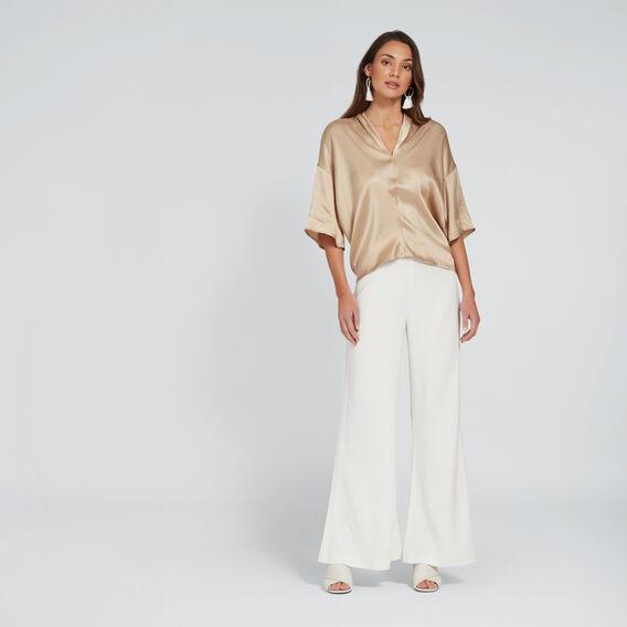 Kimono Blouse  TUSCAN BROWN  hi-res