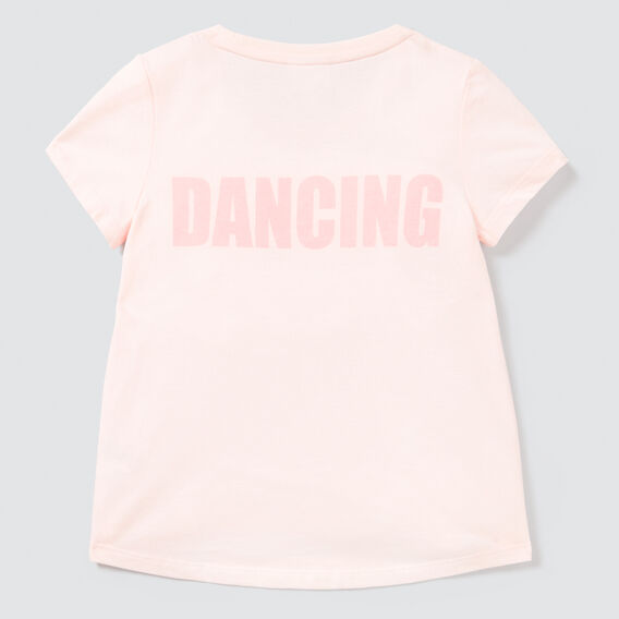 Keep Dancing Tee  ICE PINK  hi-res