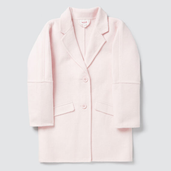 Button Down Coat  ICE PINK  hi-res