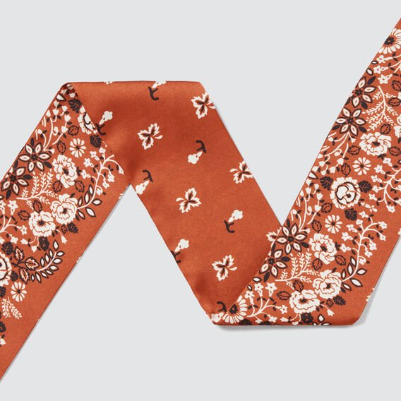 Thin Neck Scarf  MINI PAISLEY  hi-res