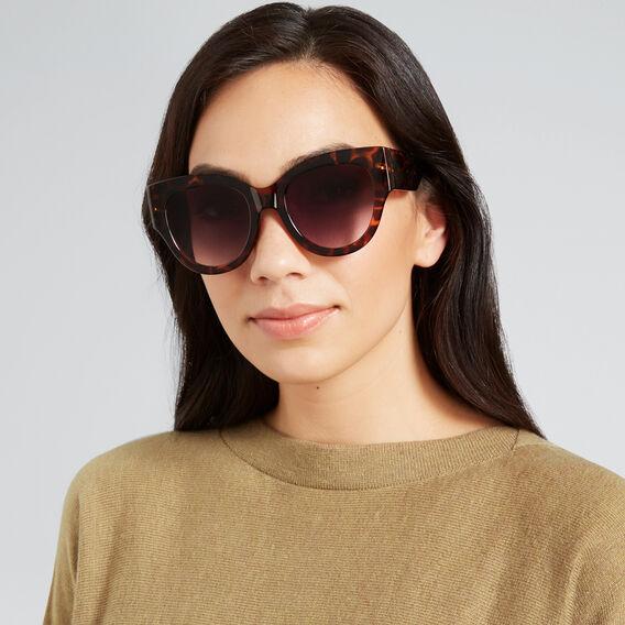Selma Cat Eye Sunglasses  TORT  hi-res