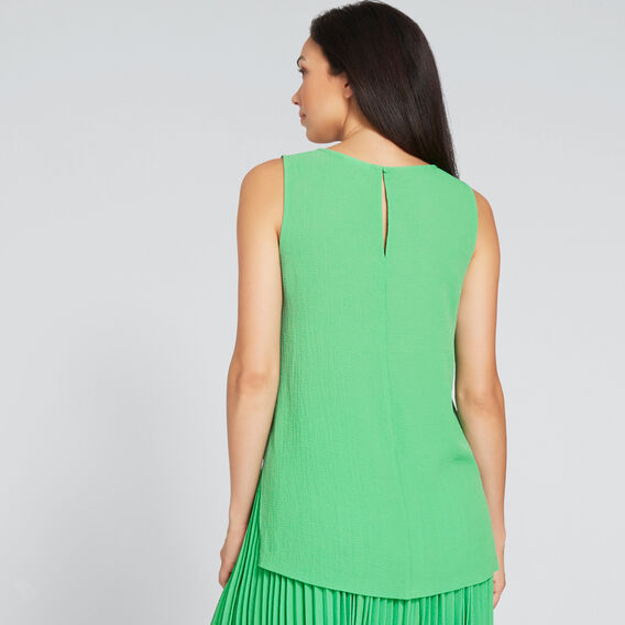 Crinkle Tank  WASHED GREEN  hi-res